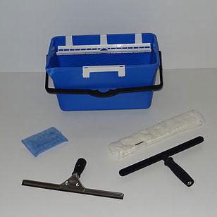 Kit de base pour le nettoyage des vitres
