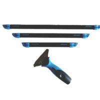 Lot 3 barettes Liquidator poignée ergonomique materiel de nettoyage professionnel