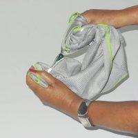 Microfibre pro essuie verre 70x40 materiel de nettoyage professionnel